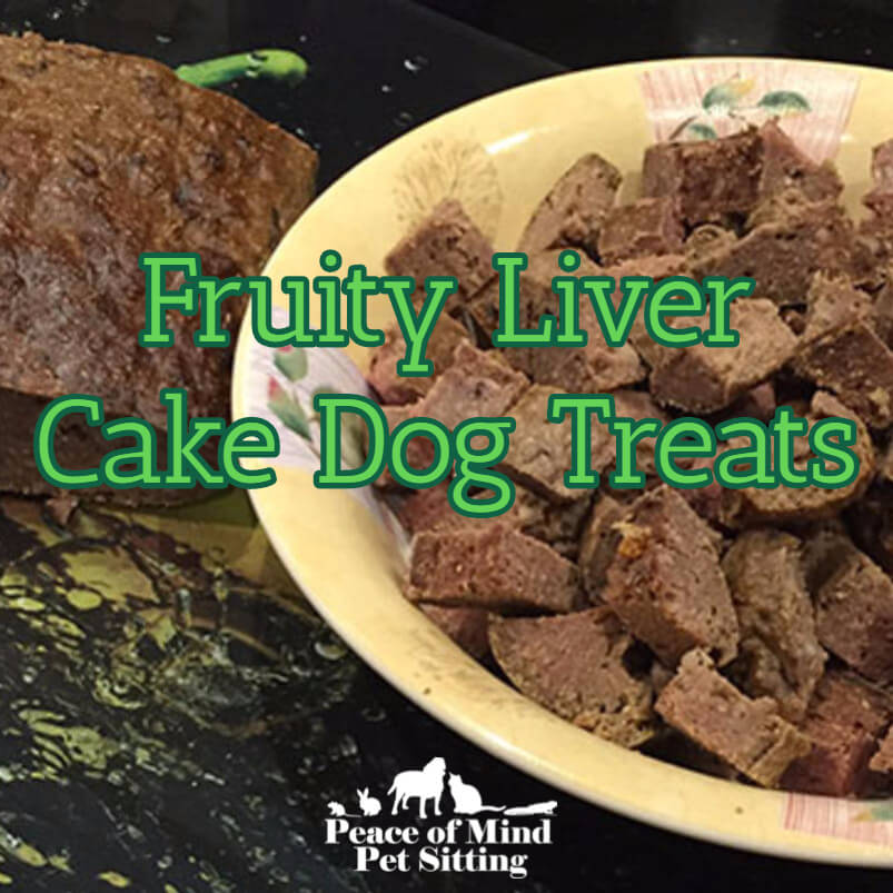 fruity liver cake recipe for dog treats